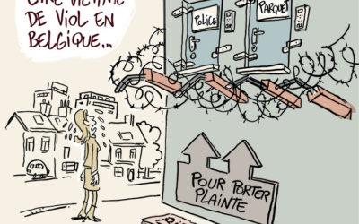 Porter plainte pour viol en Belgique