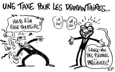 Charles Michel et les diamantaires