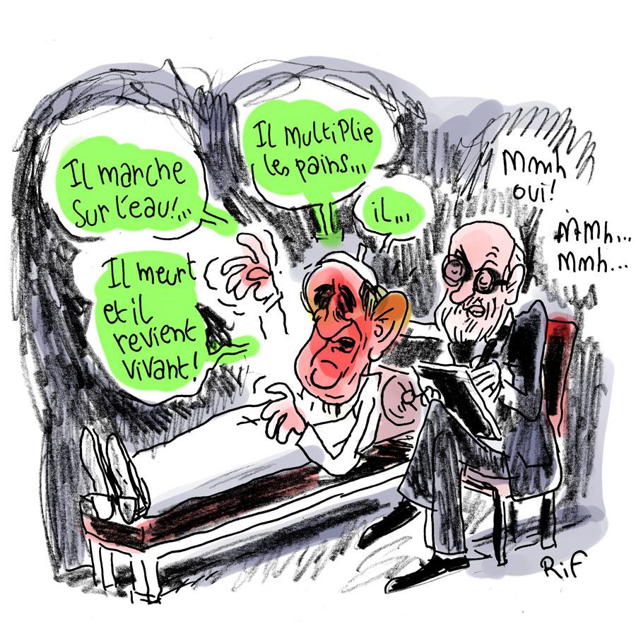 Le pape François et ses propos sur le la psychiatrie et les homosexuels