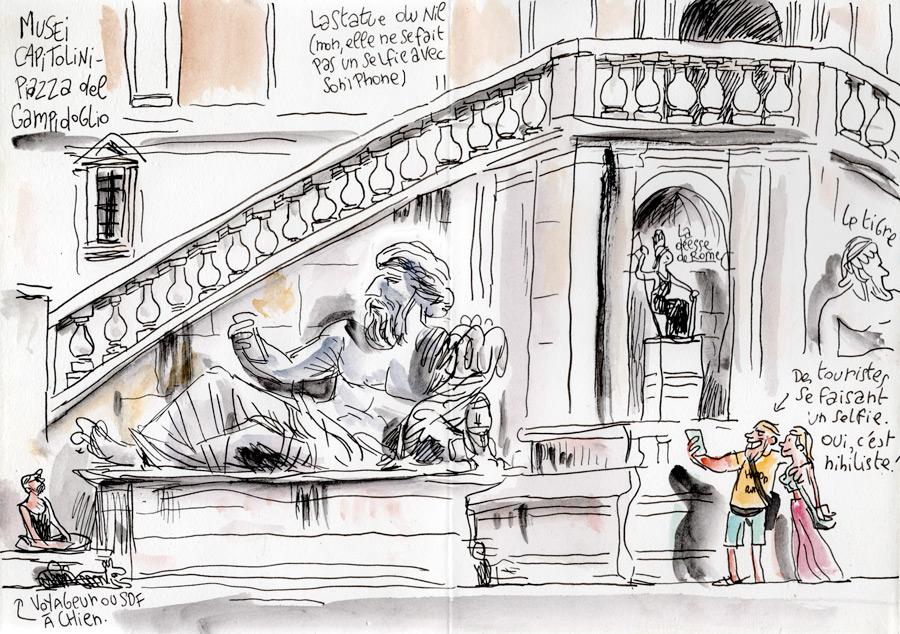 Roma - Piazza del Campidoglio