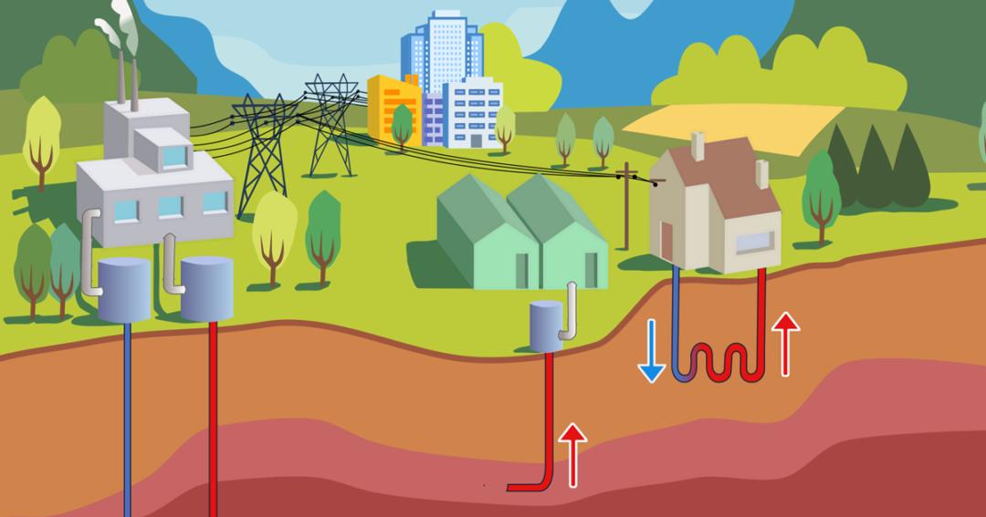visual on geothermal energy