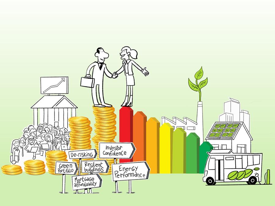 Financer - Financement de l'efficacité énergétique -ecologie- europe